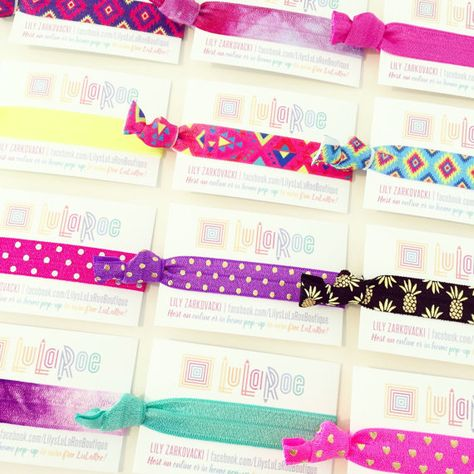 Calling all LuLaRoe consultants!! STAND OUT from the competition with these  awesome hair tie 26339caa078