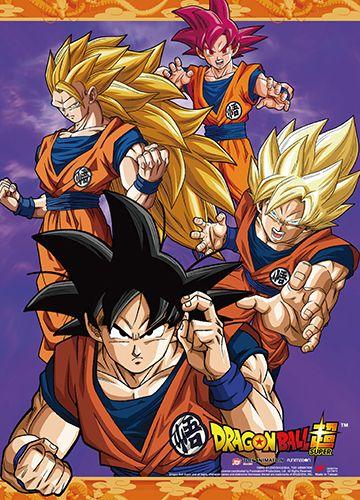 *NEW* Dragon Ball Z Saiyan Saga Wall Scroll by GE Animation