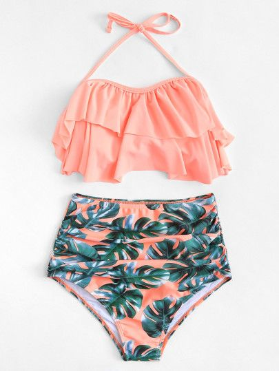 e37ac4aef6 SHEIN Beachwear | Stuff to buy | Bikinis, Cute swimsuits high ...