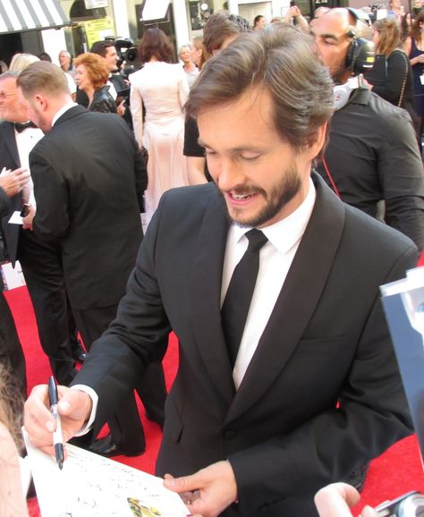 Hugh Dancy - Arqiva British Academy Television Awards, May 2014