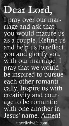 Prayer Of The Day - Romance