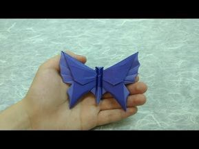 Easy Origami Butterfly  Paper Butterfly step by step tutorial ...   217x289