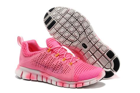 d5ddf91a7256 New Products Nike Free Powerlines 3rd III Third Women All Pink Running Shoes