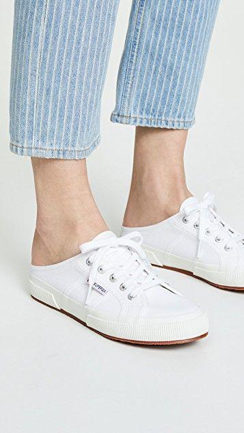 Superga Mule Sneakers   Mule sneakers