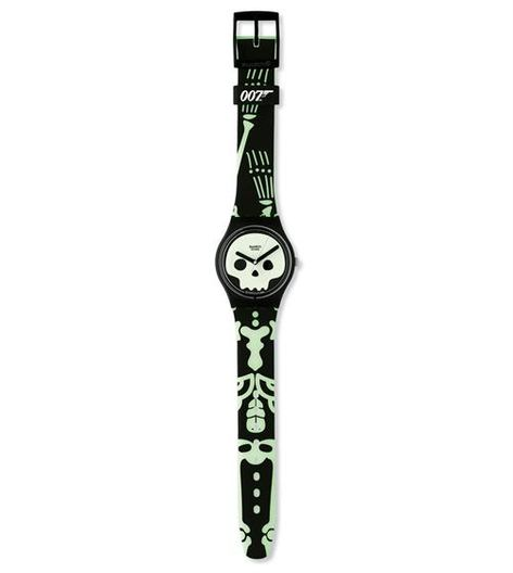Swiss made, the Swatch watch BARON SAMEDI- LIVE AND LET DIE features a quartz movement, a silicone strap and a plastic watch head. Discover more Originals Gent on the Swatch United States website.