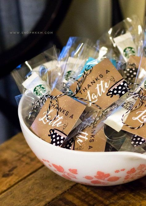 Thanks A Latte Favor Tag, Coffee Favor Tag, Coffee Shower, Coffee Party Favor, Baby Shower Decor, Br