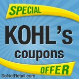 Get Kohl's Printable Coupons at  -     codes  coupons