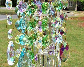 Etsy Your Place To Buy And Sell All Things Handmade Crystal Wind Chimes Wind Chimes Glass Wind Chimes