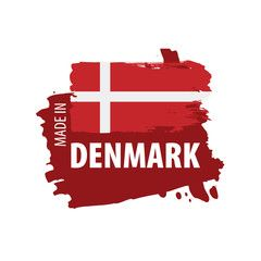 Denmark Flag Vector Illustration On A White Background Affiliate Vector Flag Denmark Bac In 2020 Denmark Flag Photoshop Tutorial Design Vector Illustration