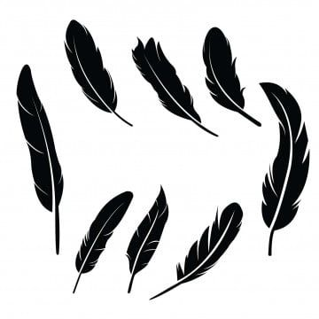 Pen Feather Icon Simple Style Vector Image Feathers Vector Set In A Flat Style Isolated Feathers Silhouette Feather Clipart Feather Icons Style Icons Png And Feather Icon Feather Vector Feather Illustration