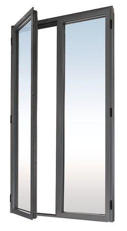 L 120 X H 215 Cm Isolez Votre Maison Tout En Profitant D Une Grande Luminosite Avec Cette Porte Fenetre Grise En Alum Porte Fenetre Fenetres Aluminium Fenetre
