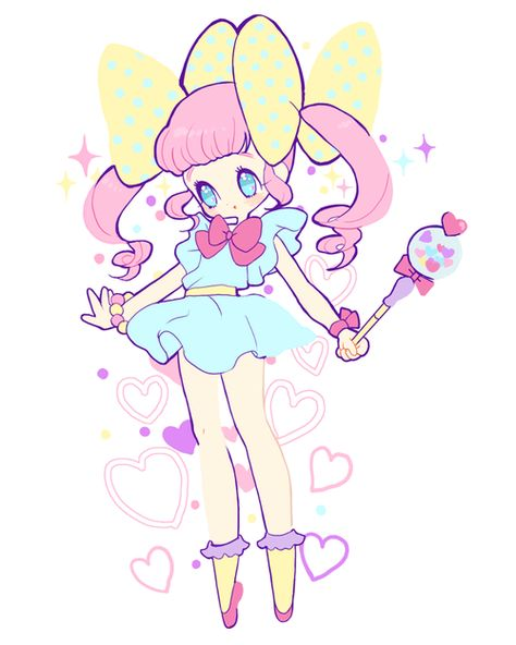 cute magical girl