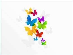 Free Butterfly Powerpoint Templates Google Search Rainbow Abstract Rainbow Butterflies Colorful Backgrounds