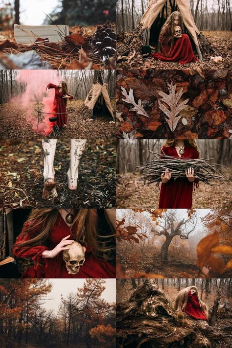 """""""The Witches: Autumn Witch """" Eerie Photography, Halloween Photography, Fantasy Photography, Autumn Photography, Glamour Photography, Creative Photography, Portrait Photography, Modeling Photography, Lifestyle Photography"""