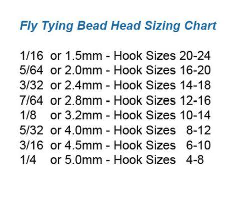Harvester Midge Missouri Trout Thread Size Chart Fly Tying Hook Sizing