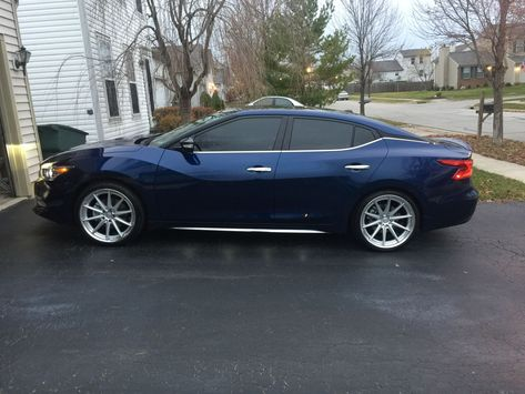 Will 20 inch rims fit on 2016 Max? - Maxima Forums