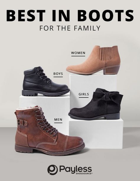 boots, payless shoesource