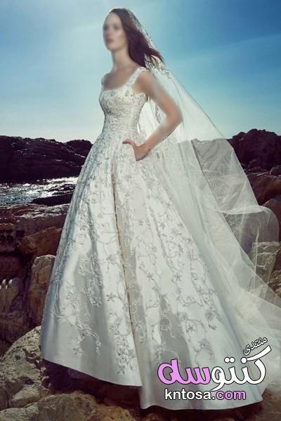 احدث موديلات فساتين زفاف 2019 موضة فساتين زفاف 2019 كلاسيكية وجريئة اجمل فساتين زفاف موضة ربيع 2020 Kntosa C Wedding Dresses One Shoulder Wedding Dress Dresses