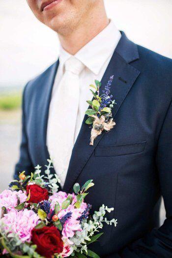 Brautigam Blume Bildergalerie Mit Vielen Ideen Und Beispielen Hochzeitsanstecker Brautigam Blume Blumen