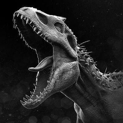 Indominus Rex Z Sculpt Jurassic World Wallpaper Jurassic World Dinosaurs Jurassic World Indominus Rex