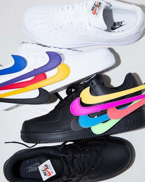 """Nike Air Force One Low Swoosh Pack """"Sail"""""""