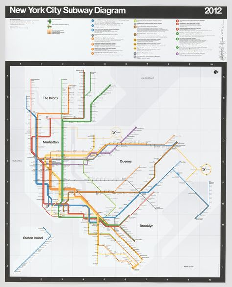 New York City Subway Diagram 2009 Dodge Ram Radio Wiring Massimo Vignelli Beatriz Cifuentes Yoshiki Waterhouse 2012