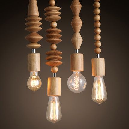 Cheap Bulb 12v Buy Quality Lamp Bulb Light Directly From China Bulb Lamp Led Suppliers Vintage Wood Pendant Light Wood Pendant Lamps Vintage Pendant Lighting