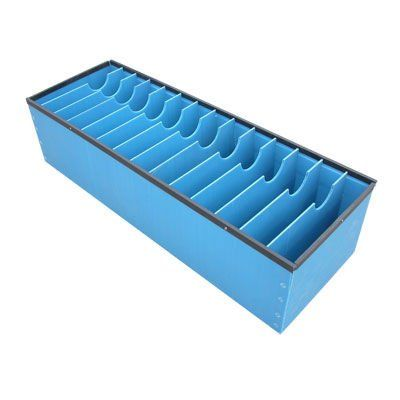Polypropylene Anti Static Plastic Containers Crate Stackable Turnover For Warehouse Storage 5mm Coreflute Pp Dustbin Box View 5mm Coreflute Pp Dustbin Box Zhi Corrugated Plastic Sheets Corrugated Plastic Plastic Roofing