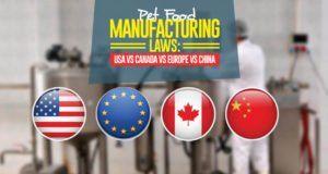 Pet Food Manufacturing Standards Regulations Usa Vs Canada Vs Europe Vs China In 2020 Dog Shampoo Bar Food Animals Food Manufacturing