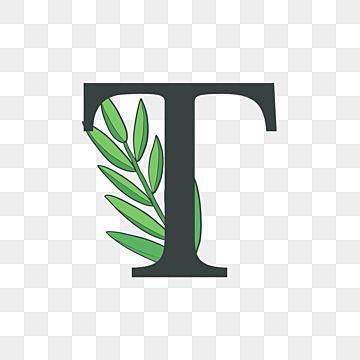 حرف T شعار الأزهار زهري رسالة الأبجدية Png والمتجهات للتحميل مجانا Floral Logo Lettering Floral