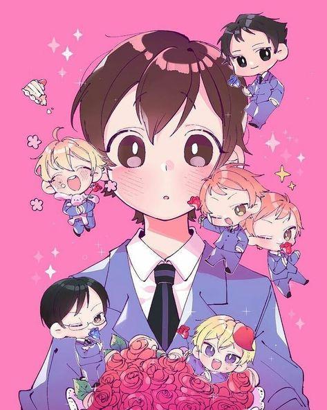Colégio Ouran Host Club, Ouran Highschool Host Club, Host Club Anime, High School Host Club, Manga Anime, Me Anime, I Love Anime, Anime Fairy, Levi X Eren