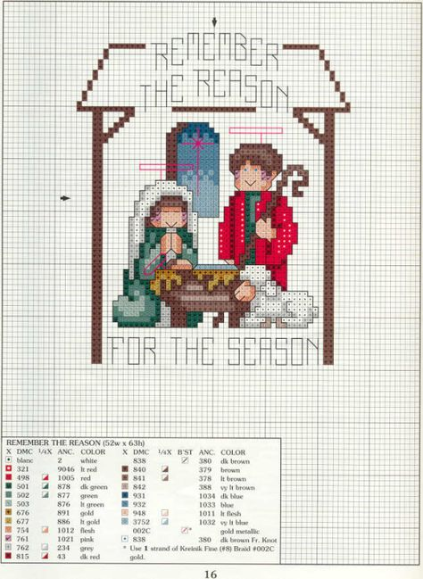 X5 Gingerbread Bunting Holly Candy Cane Christmas Cross Stitch Chart