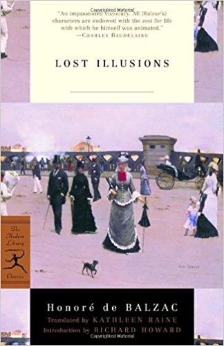 Lost Illusions By Honore De Balzac Illusions Modern Library