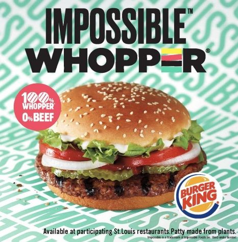 Burger King Testing The Impossible Whopper The Grubwire Impossible Burger Vegan Fast Food Burger