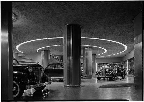 Chrysler Show Room in Chrysler Building ca.