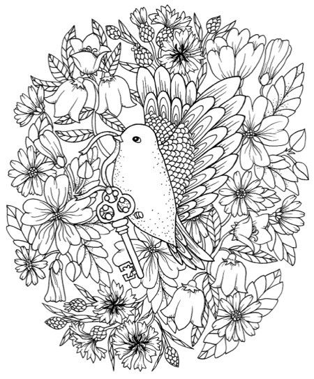 Pin On Coloring Pages For Grown Ups Coloring Pages For Adults