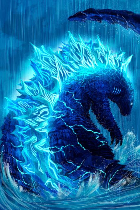 Godzilla King Of The Monsters Water By Pyrasterran On