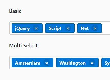 Bootstrap 4 Tag Input Plugin With jQuery - Tagsinput js