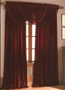 Amazing Burgundy Curtains