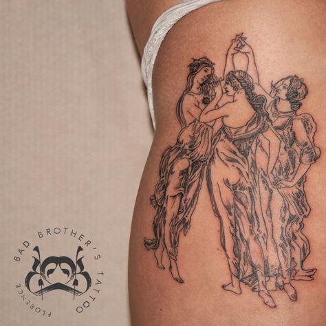 Tattoodo - Bad Brother's Tattoo Studio … - Bad Tattoos, Line Tattoos, Future Tattoos, Sleeve Tattoos, Small Back Tattoos, Back Tattoos For Guys, Brother Tattoos, Black And Grey Tattoos, Black Line Tattoo