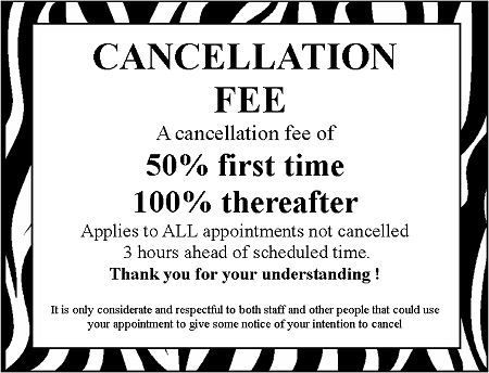 Cancellation Policy Pictures To Pin On Pinterest
