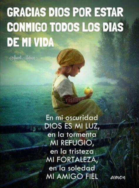 Araceli Malpica Posters Gracias Dios Por Estar Conmigo