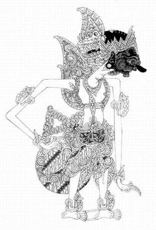 Wayang Kurawa : wayang, kurawa, Wayang, Kurawa, Halaman, Seni,, Sketsa,, Museum