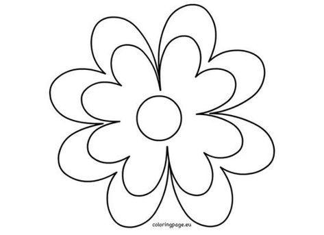 12 Petal Flower Template Download 12 Best Fake Flowers Images On Pinterest Flower Templates Printable Flower Template Flower Stencils Printables