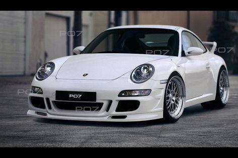 PORSCHE 911 997 Frontstoßstange, Schürze, Front Bumper, GT GT3 GTRS Turbo