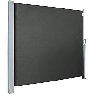 Seitenmarkise Sonnenschutz Sichtschutz Windschutz Alu Markise Balkon Polyester