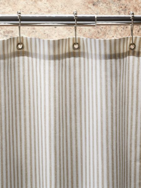 Cotton Duck Shower Curtain In 2 Sizes Primitive Bathrooms
