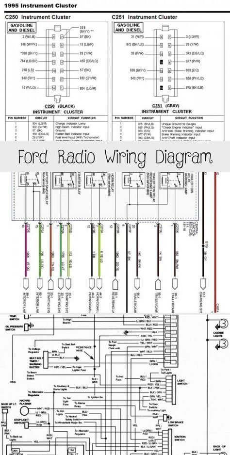 Ford Radio Wiring Diagram Ford Ford Ranger Range Rover