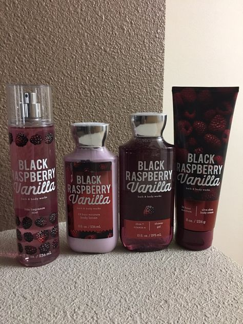 Bath And Body Works Black Raspberry Vanilla Set Brand new never used Set from Ba. BATH black BODY brand never - Bath And Body Works Black Raspberry Vanilla Set Brand new never used Set from Ba…… Bath Body Works, Bath And Body Works Perfume, Bath N Body, Younique, Bath And Bodyworks, Healthy Skin Care, Body Mist, Smell Good, Shower Gel