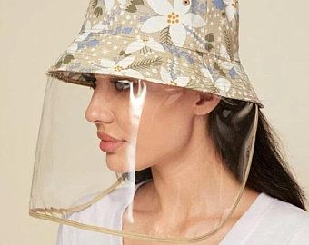 Hat Face Shield Can Be Used On Any Hat Face Mask Shield Hat Shield Face Shield Summer Hat Face Shield Summer Hats Face Shield Masks Face Shield